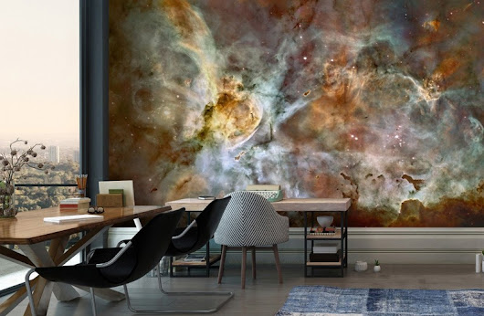 Space Wallpaper To Take Your Room To Another Galaxy | Wallsauce