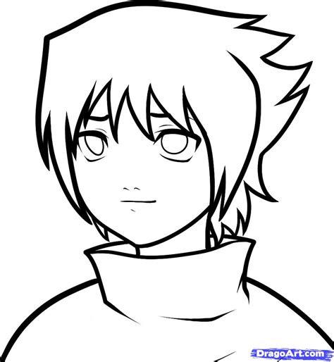 draw baby sasuke naruto step  step naruto