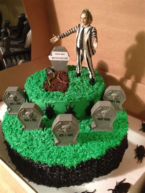 28 Beetlejuice Themed Birthday & Wedding Cakes ? The World