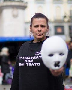 Gloria Vázquez, presidenta de la Asociación Ve la luz. CHRISTIAN GONZà LEZ