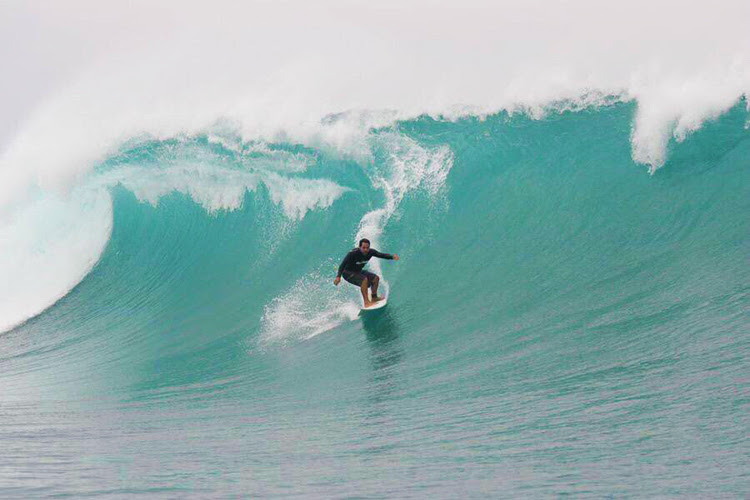 Aurelio Prieto: a big wave surfer from Ecuador | Photo: Swell Ecuador