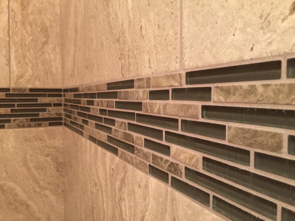 Glass Tile Sanded Or Unsanded Grout Ceramictilepro
