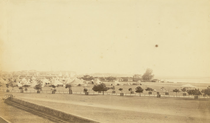 Esplanade and Bandstand, Bombay.