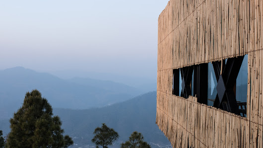 Zowa Architects combines bamboo and glass for Himalayan hotel