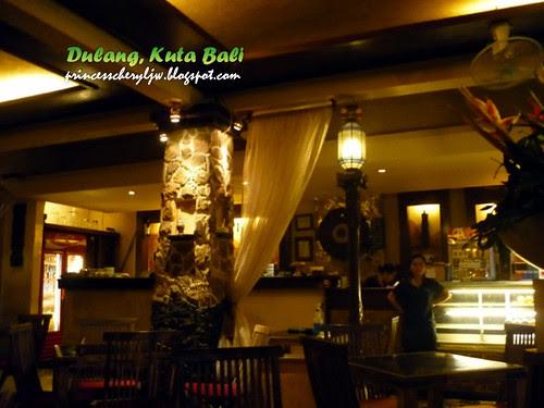 Dulang Restaurant Kuta Bali ambience