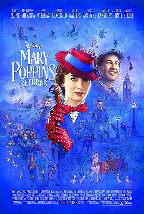 "Reviewed: Mary Poppins Returns is a welcome ""back"" with a perfect cast #MaryPoppins #MaryPoppinsReturns..."