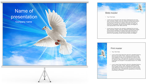 Letcia xavier coutinho google dove in the sky powerpoint template toneelgroepblik Images