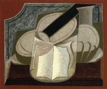 Book and Guitar - Juan Gris