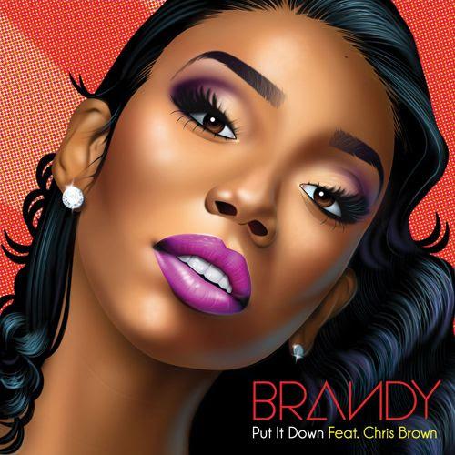 Put It Down (Single Cover), Brandy