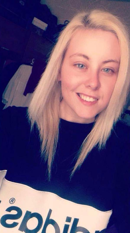 Shannon Jones tiene 20 años y admitió ser partícipe del extraño ritual sexual al que sometieron al futbolista