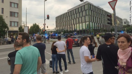 Report: Several killed in Munich mall shooting