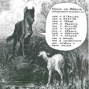 Capa de edição do 'Pasquim' (Arquivo pessoal)