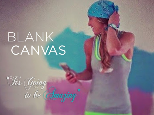 """Blank Canvas""....The possibilities are limitless! by Virginia DesRoches — Kickstarter"