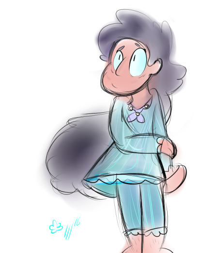 Steven 3 and Connie 4 requested by @ vidoriparadnight sorry i didn't get much time to work on this one but i hope it's good enough anyways!