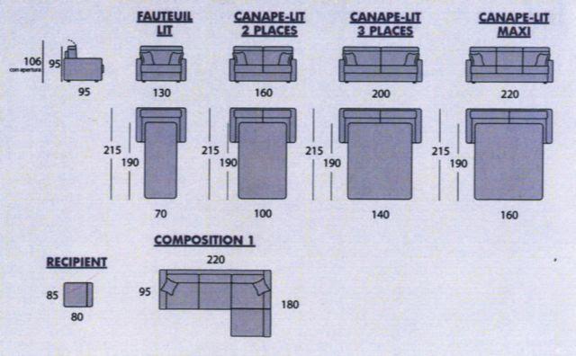 Table et chaises de terrasse dimension lit 2 places - Taille matelas 2 personnes standard ...