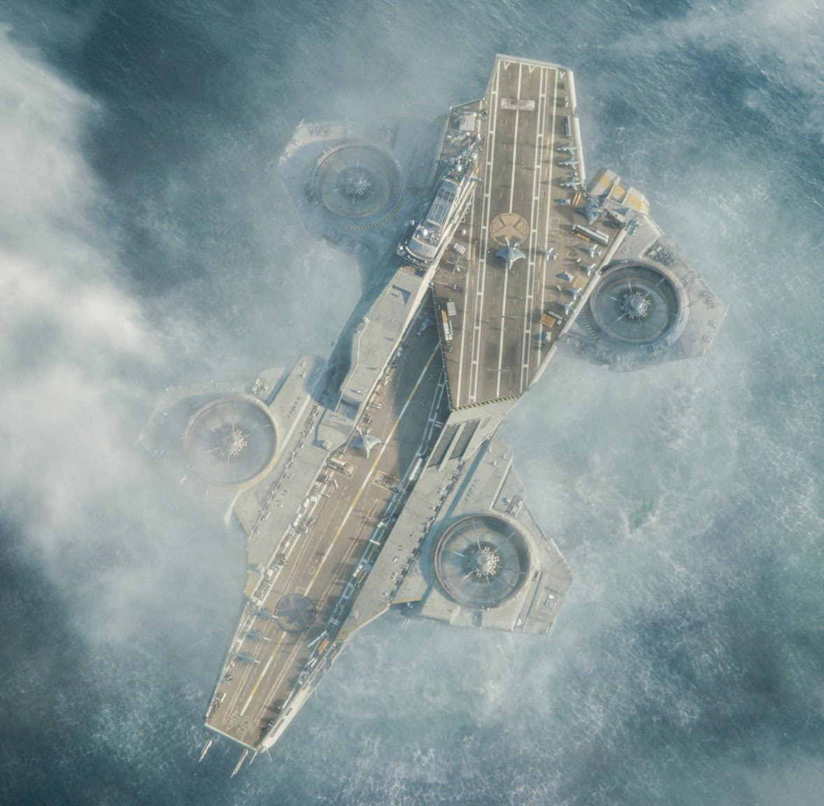 Concept Ships: Helicarrier By ILM