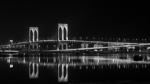 Macau SaiWan Bridge with Fuji F30