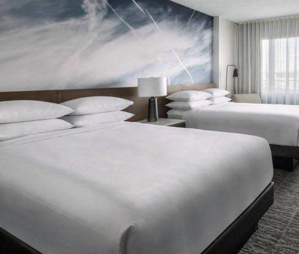 L'art des chemtrails aux hôtels Marriott