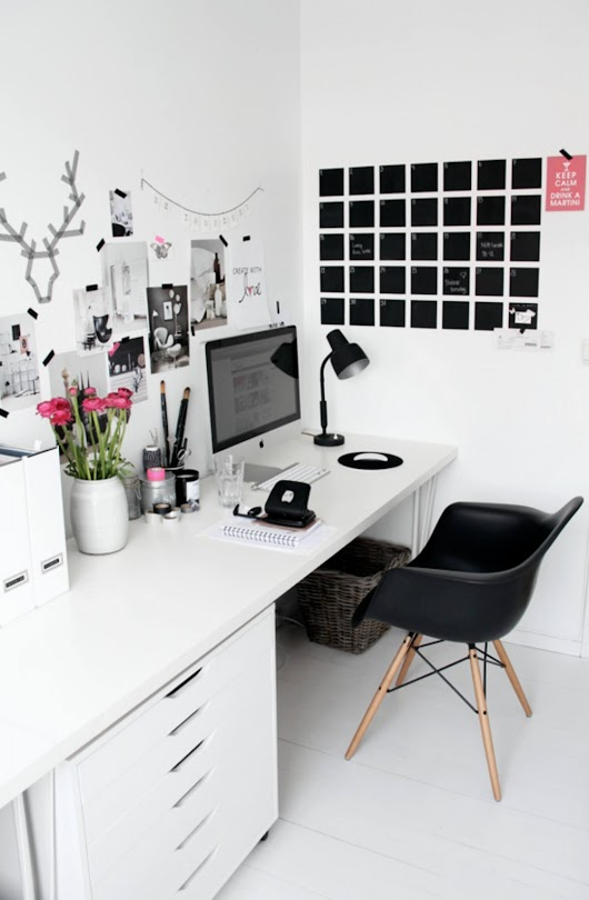 Home Office Inspiration | COCOCOZY