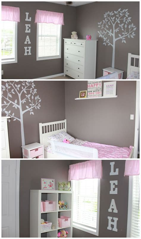 simple  sophisticated toddler bedroom   budget