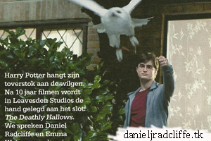 Scans: Kampioen magazine, Deathly Hallows part 1 (NL)