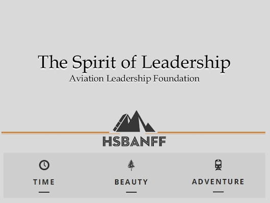 HSBanff Leadership Presentation