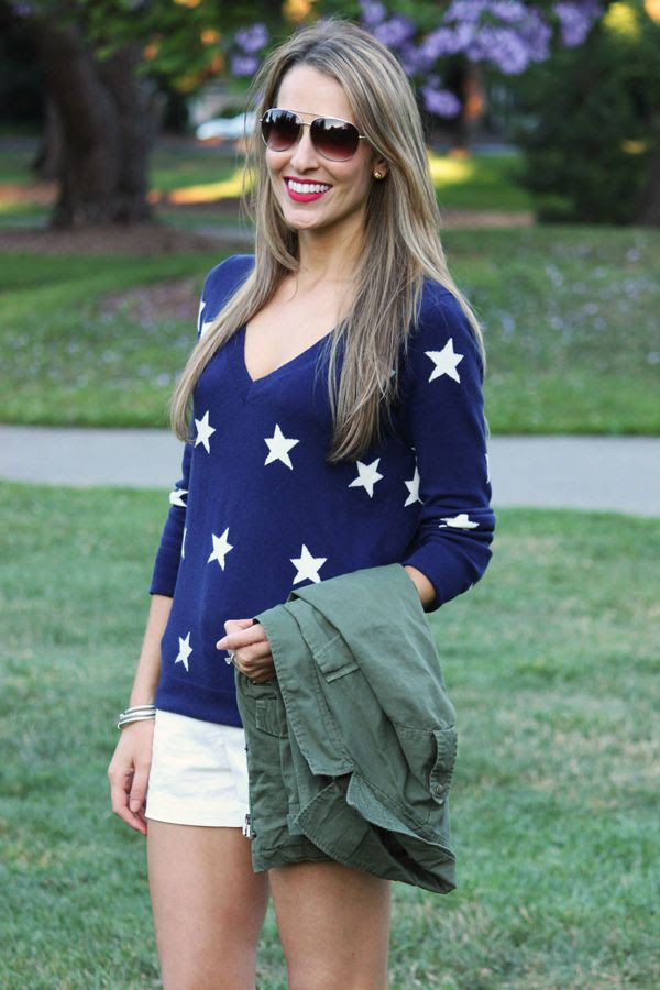 Fourth of July style? (this is cute and I would wear it year round)