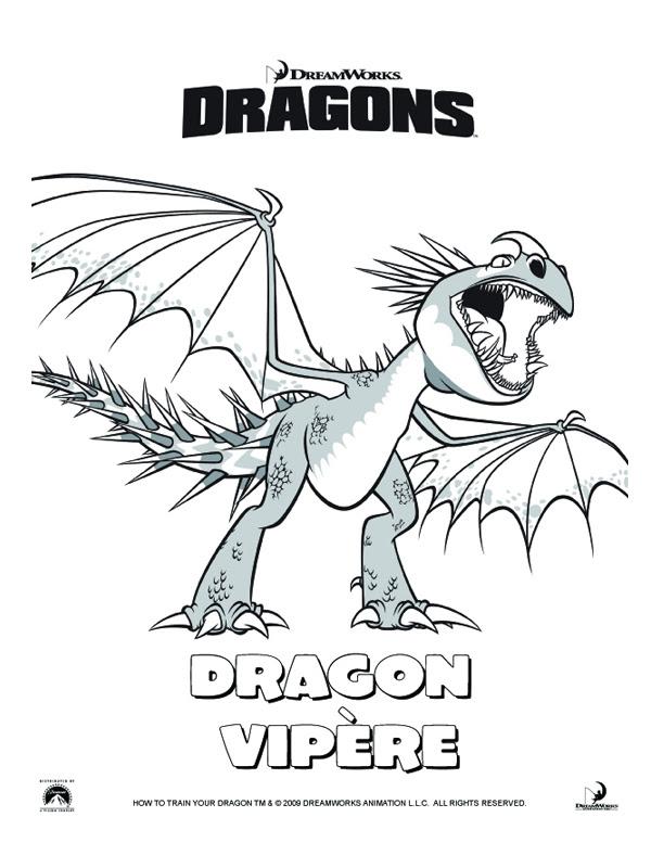 157 Dessins De Coloriage Dragon à Imprimer Sur Laguerchecom Page 8