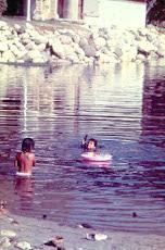 Kids in Lagoon