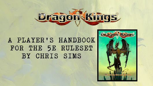 Dragon Kings Player's Rulebook for 5E