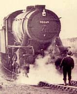I hear my train a-comin'