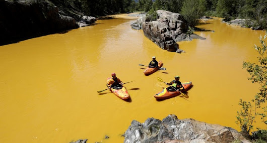What It's Like Rafting The Animas After EPA / Gold King
