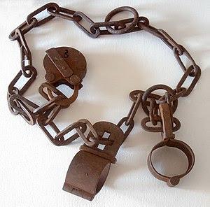 Old handcuffs