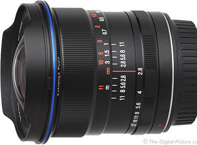 Does the Venus Optics Laowa 12mm f/2.8 Zero-D Lens have Zero Distortion?