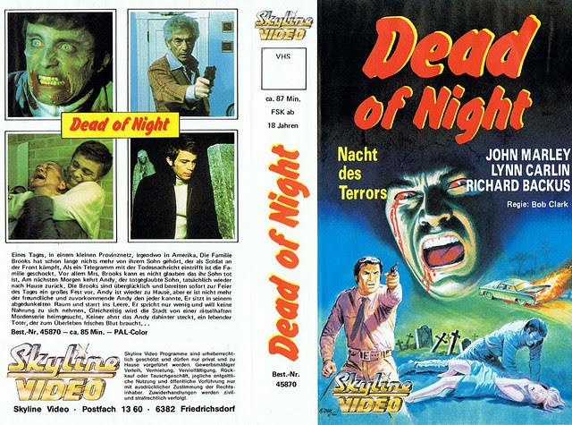 Dead Of Night (VHS Box Art)
