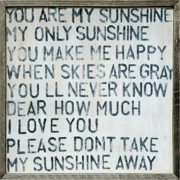 You Are My Sunshine Art Print Sugarboo Co