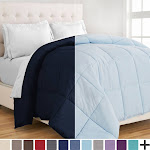 Bare Home 1800 Series Goose Down Alternative Reversible Comforter
