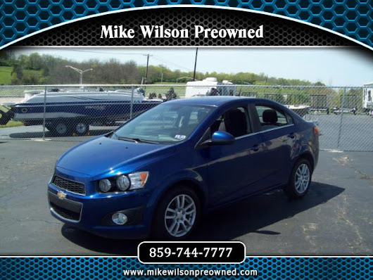 Used 2012 Chevrolet Sonic 2LT Sedan for Sale in Winchester KY 40391 Mike Wilson Preowned