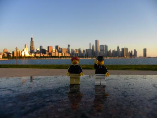5.31.2009 Lego Chicago sunrise 5.34am