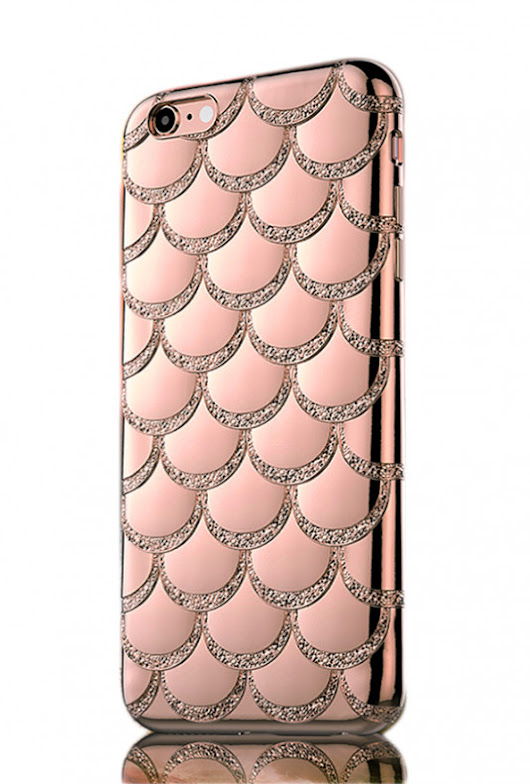Mermaid Bling Fish Scale iPhone 6 Case in Pink  | Sincerely Sweet Boutique