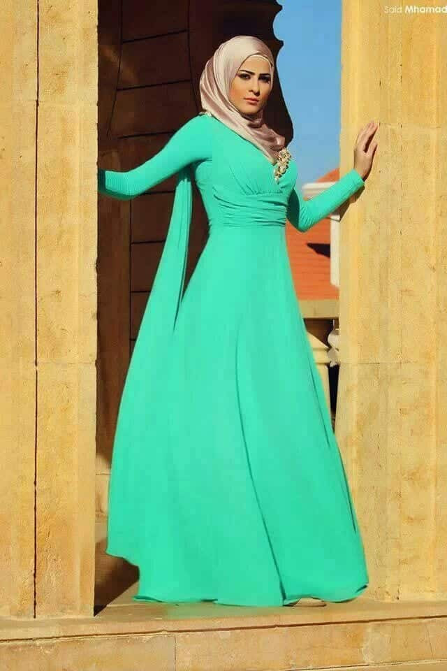 Kaftan Style Abaya with Hijab