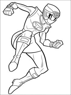 power rangers spd coloring pages at getdrawings  free