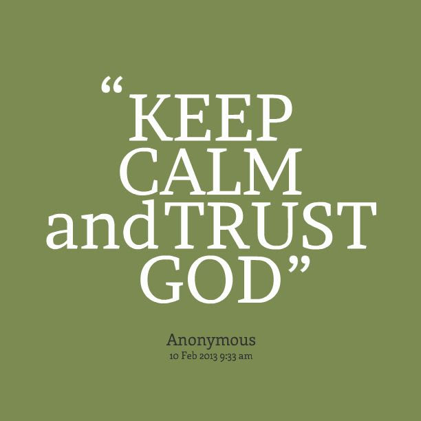 Quotes About Trust God 387 Quotes