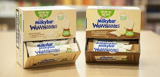 Nestlé's Milkybar world first with innovation to reduce sugar by 30%
