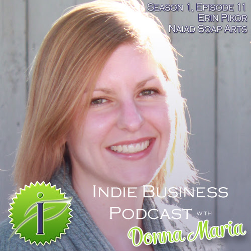 Erin's on the Indie Business Podcast!