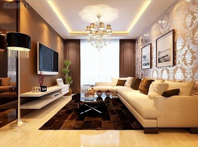 Desain Wallpaper Ruang Tamu Minimalis