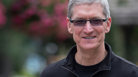 Apple CEO Tim Cook giving most of fortune to charity