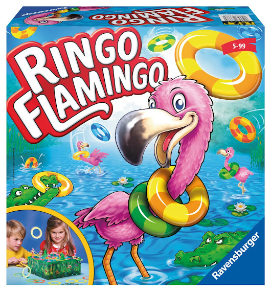 Mommatwo: Ringo Flamingo board game review
