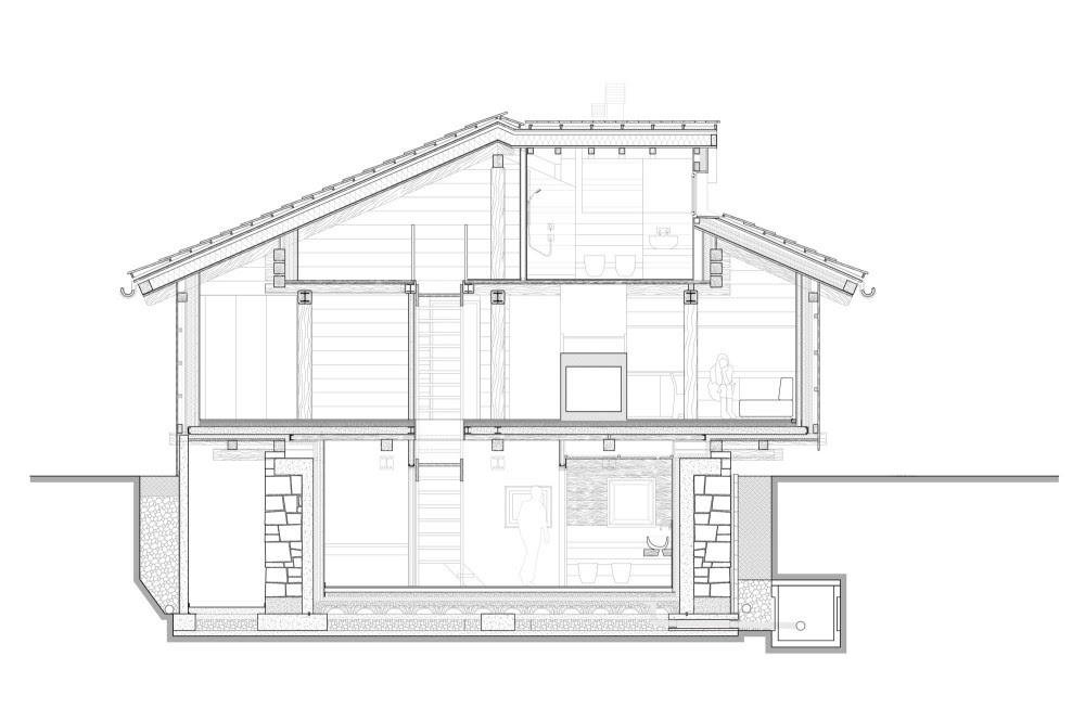 Granero en los Alpes - EXiT architetti associati, Arquitectura, diseño, casas