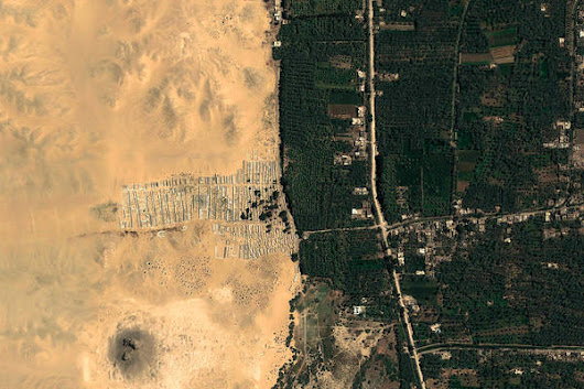 Giza, Egypt – Earth View from Google